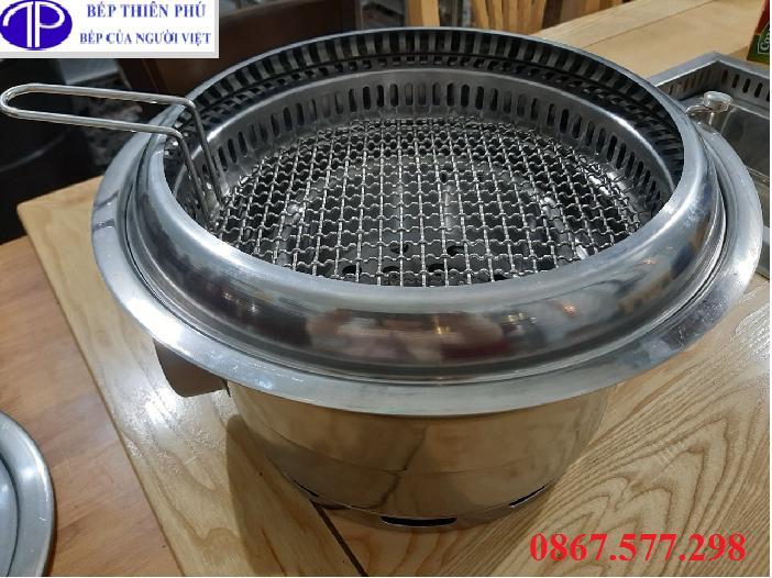 Bếp nướng than không khói HA01, Bếp lẩu nwusong than không khói hút âmgiá tốt HA01