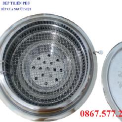 Bếp nướng hút âm HA01, Bếp nướng than không khói HA01