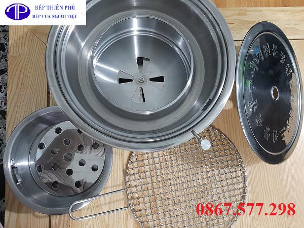 Bếp nướng than hoa hút dương HD01, Bếp nướng hút dương HD01