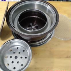 Bếp nướng than Việt Nam màu nâu NH01 giá tốt, lò nướng than Việt Nam NH01 chất lượng