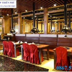 Lắp đặt hệ thống ống hút chao đèn bếp nướng Hàn Quốc