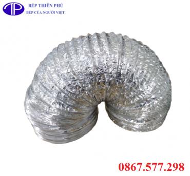 Ống bạc mềm hút khói D250 giá rẻ tại Quảng Ninh