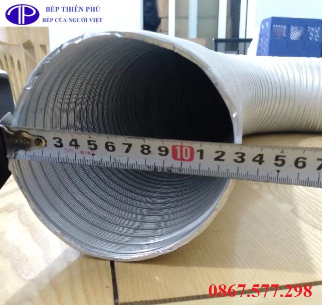 Ống nhôm nhún mềm nối ống phi 125, Mua ống nhôm nhún mềm giá rẻ tại Quảng Ninh