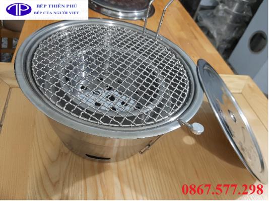 Bếp nướng than hoa không khói Hàn Quốc