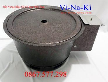 bếp nướng bằng sắt có quạt thổi than