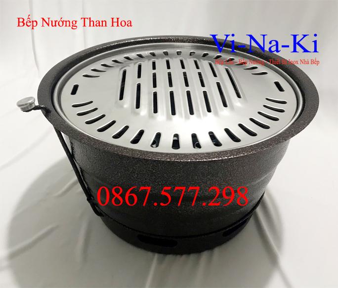 bếp nướng than hoa bằng sắt