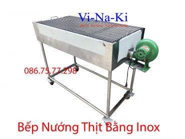 bếp nướng thịt bằng inox
