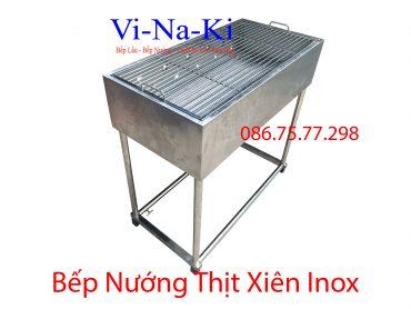 bếp nướng thịt xiên inox