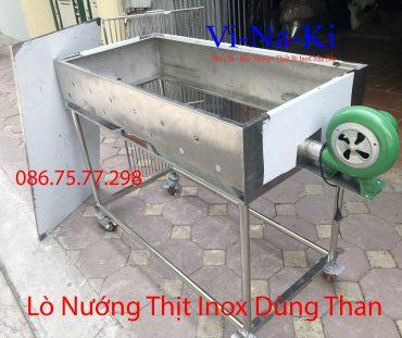 lò nướng thịt inox dùng than