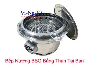 bếp nướng bq bằng than tại bàn